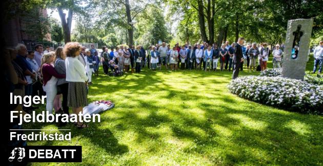 De 69 som mistet livet til terror på Utøya 22.  juli 2011 har hvert år siden blitt minnet på denne dagen i Fredrikstad. Så også i år. Arkivfoto: Erik Hagen