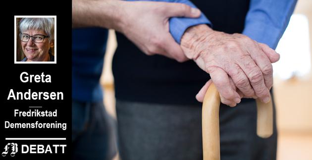 – Det er mange demente som ennå ikke er inne i helsekøene, advarer Greta Andersen.