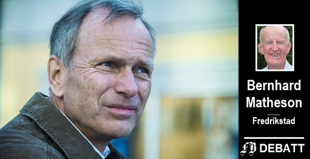 Gruppeleder Truls Velgaard var én av 15 i Høyres bystyregruppe som undertegnet innlegget der det ble slått fast at Peter Kuran gikk til pressen med saken.