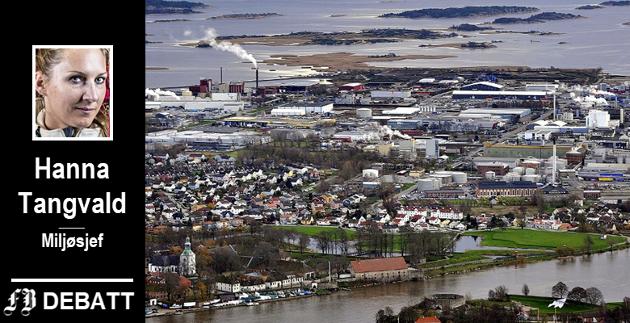 Flere bedrifter på Øra er med i tilsynet. – Byens største industriområde ligger tett på sentrum, og med sårbare økosystemer rett utenfor gjerdet. Kombinasjonen gir åpenbare utfordringer, skriver miljøsjefen.