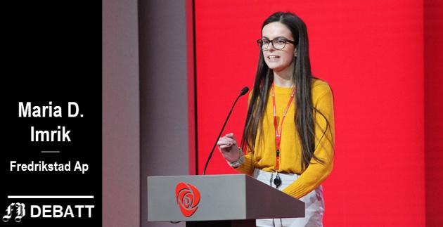 Maria D. Imrik, ungdomskandidaten som føk helt inn i formannskapet ved høstens valg: – Jeg har ikke tenkt å sitte stille i løpet av min periode, jeg skal gjøre meg tilliten verdig.