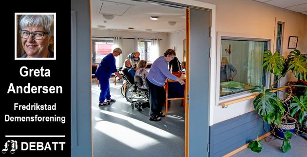 Bemanningen i omsorgsboligene i Smertulia skal oppgraderes, ifølge vedtaket som reddet Torsnes sykehjem. Greta Andersen gjentar det hun har sagt før vedtaket: Omsorgsboliger og sykehjem er to ulike tjenester.