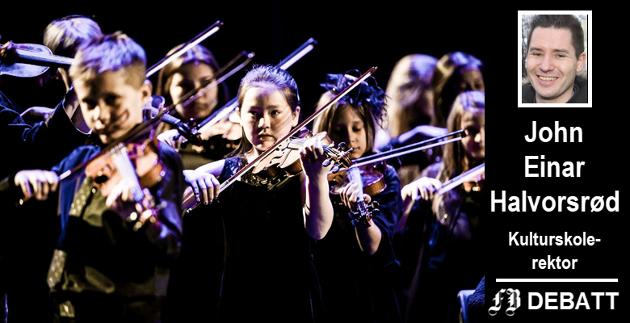 – Kulturskolen i Fredrikstad ønsker å være en kulturskole for alle som har lyst, skriver rektor John Einar Halvorsrød, og erkjenner at det er et økonomisk gap som må fylles for å nå dette målet.