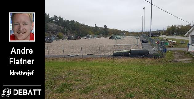 Trondalen er ett av anleggene i Fredrikstad som har fått kunstgress av den nye typen. Morten Helminsen i Gresvik IF meldte forleden tilbake: «Knall med fine forhold på kampen i går også. Helt topp.»