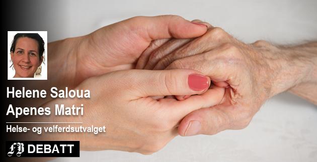 – Trygghet er sentralt, og dette vil det legges godt til rette for i bemannede omsorgsboliger, skriver Helene Saloua Apenes Matri  i dette svaret til Greta Andersen i Fredrikstad Demensforening.