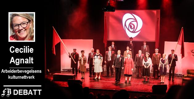 Stykket om Oscar Torp hadde urpremiere på Sarpsborg Scene på 1. mai 60 år etter hans død.
