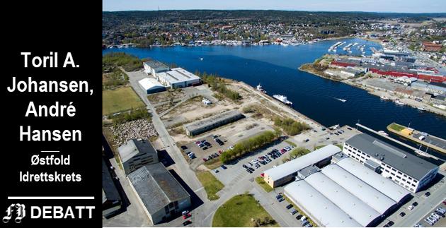 Tomten er pekt ut, neste trinn er plan- og designkonkurransen for nye videregående skole, idrettshall og Arena Fredrikstad på Værste.