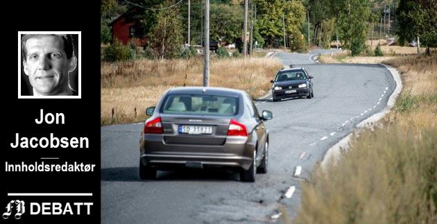 Seppoveien er én av Fredrikstads tilknytningsveier til E6 med bedrøvelig standard.