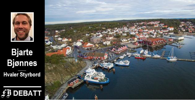 – Hvaler er en skattesterk kommune, fastslår ordførerkandidat Bjarte Bjønnes. – Men det kreves nytenkning for å holde utgiftene i sjakk.