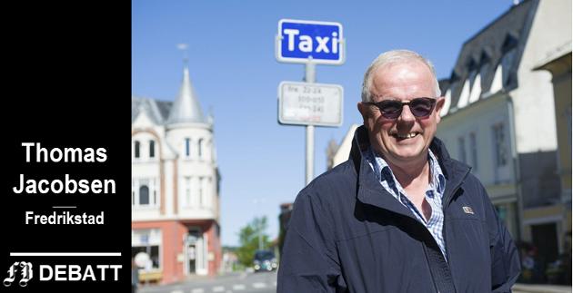 – Iinnvandrerne som er mine kolleger, er flyktninger. De tjener penger, betaler skatt og er nyttige borgere. Samtlige vil kunne lære bort mye om integrering, skriver  Thomas Jacobsen, styreleder ved Taxisentralen.