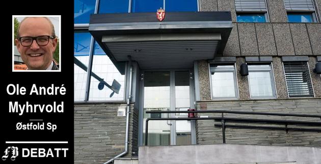 – Domstolsadministrasjonen har lenge forberedt storstilte nedleggelser i kulissene, og presset mot tingrettene i Østfold har vært hardt, skriver Myhrvold. Også Fredrikstad tingrett er aktuell for sammenslåing.