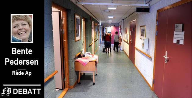 Ønsker oppgradering av Råde sykehjem: – Når de som i dag er mellom 50 og 60 år blir gamle og syke, kommer de til å stille helt andre krav til sin alderdom enn dagens eldre.