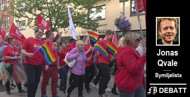 – Jeg er glad for å bli invitert til å delta i Fredrikstad Pride, melder Bymiljølistas førstekandidat.
