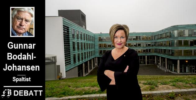 Viktigste oppgave: – Å rydde opp i varslingssakene blir kommunaldirektørens største utfordring. Resultatet vil definere Nina Tangnæs Grønvolds rolle – og fremtid – som administrasjonssjef, skriver Gunnar Bodahl-Johansen.