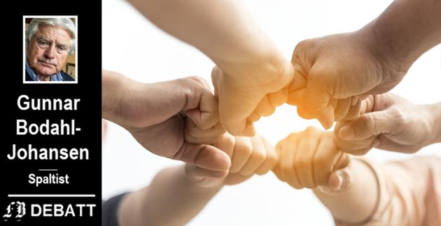 Særnorsk fenomen? – Begrepet «dugnad» refererer seg ikke bare handlinger, men uttrykker også en holdning til å stå sammen, heter det i Bodahl-Johansens artikkel.