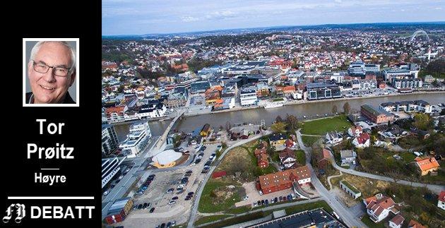 VILKÅR: - Det er bemerkelsesverdig at Fredrikstad Ap fortsatt ikke har fått med seg at næringslivet ber om bedre vilkår for å drive virksomhet i kommunen.