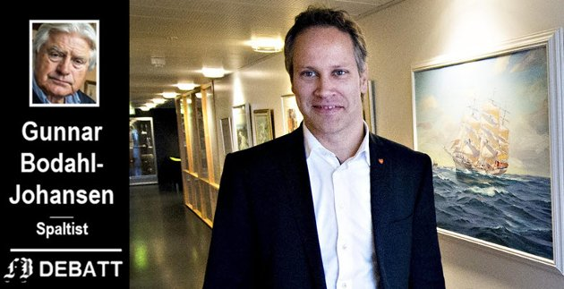 «Ordførers ansvar»: Etter Gunnar Bodahl-Johansens tolkning har ordfører Jon-Ivar Nygård også et ansvar for at alle saker blir tilstrekkelig opplyst for alle bystyremedlemmene, og det til samme tid.