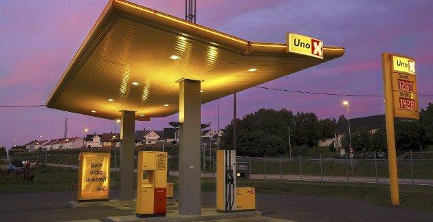 Etablering av Uno X på Tippen har engasjert mange innbyggere.