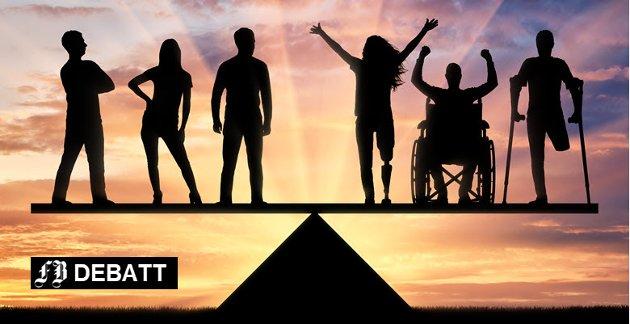 Til politikerne: Vil dere ta inn i programmene å bidra til likestilling mellom mennesker med nedsatt funksjonsevne og funksjonsfriske?