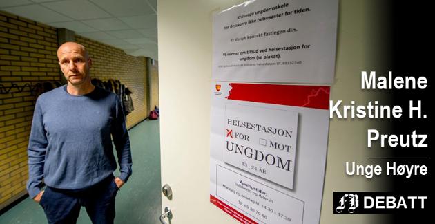 Frustrert: Tore André Johansen, rektor på Kråkerøy ungdomsskole, synes det er leit at elevene ikke har helsesykepleier (det som før het helsesøster).