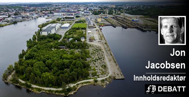På Værste er kommunen nå både reguleringsmyndighet og indirekte utbygger av store og attraktive områder. Et salg av Fredrikstad Energi-aksjene vil sette en strek for kritikken om rolleblanding.