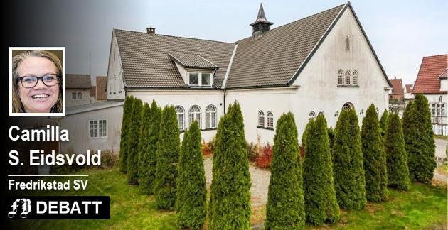 Seiersten misjonshus, som nå er til salgs, ligger i et område som trenger en møteplass for folk, mener Camilla S. Eidsvold.
