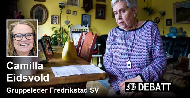FB bragte først historien om den store husleieøkningen til Elsa Johansen (85). Hun var ikke alene, og reaksjonene har ikke manglet. Foto: Elisabeth Skovly