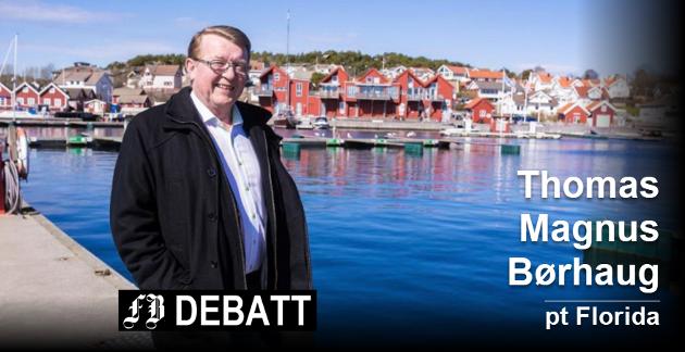Brevforfatteren vil beholde dagens idyll på Skjærhalden, og ber ordfører Eivind Borge gå imot parkeringshus i fjellet. Foto: Tore Tindlund