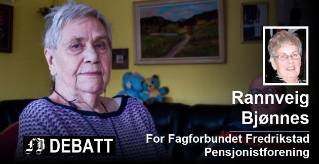 Da Elsa Johansen (85) fikk beskjed om husleieøkning på 3000 kroner måneden kom det sterke reaksjoner som etter hvert førte til at kommunen har utsatt husleieøkningen. Foto: Elisabeth Skovly