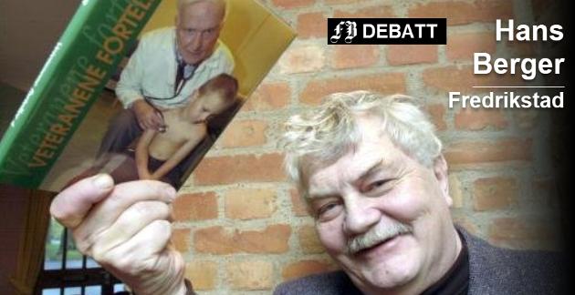 Hans Inge Bergers intervjuer ble gjennom mange år publisert i Fredriksstad Blad.  Bildet er fra utgivelsen av bok nummer fem høsten 2003. Arkivfoto: John Johansen.