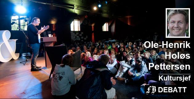Ord i Grenseland har blitt en innarbeidet festival med den svenske forfatteren Mustafa Can som trofast gjest. Kultursjefen skriver at tilnærmingen spriker i festivaldebatten.