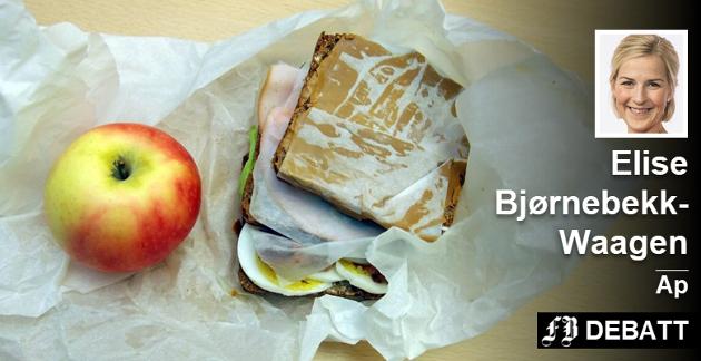 Den kjente matpakka, for noen mangler den helt, og noen er ikke innholdet det et barn trenger gjennom en skoledag.