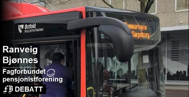 – Vi undres på om de som har satt opp bussrutene i det hele tatt har vært rundt i distriktet og sett hvor det bor folk, skriver Ranveig Bjønnes.