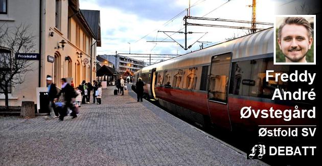 – Med høyresidens jernbaneprivatisering vil det bare bli enda flere selskaper og aktører som må koordineres. Hittil med jernbanereformen har antallet direktører i norsk jernbane økt fra 11 til 27. Alle med millionlønn, skriver Øvstegård.