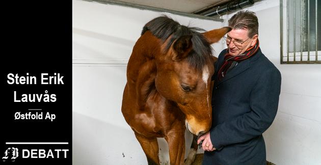 Stein Erik Lauvås med hest