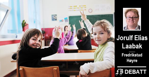 – Alle skoler i Fredrikstad bør ha en dysleksivennlig praksis, enten det er Dysleksi Norge eller andre forskningsbaserte metoder som bidrar til dette, skriver Laabak.