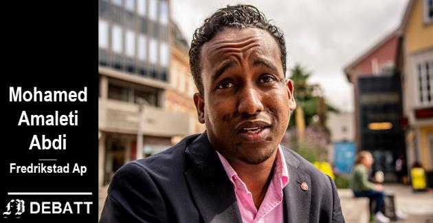 – Kampen for et sterkere fellesskap og et samfunn med små forskjeller og like muligheter blir min største prioritering, forteller Mohamed Amaleti Abdi.