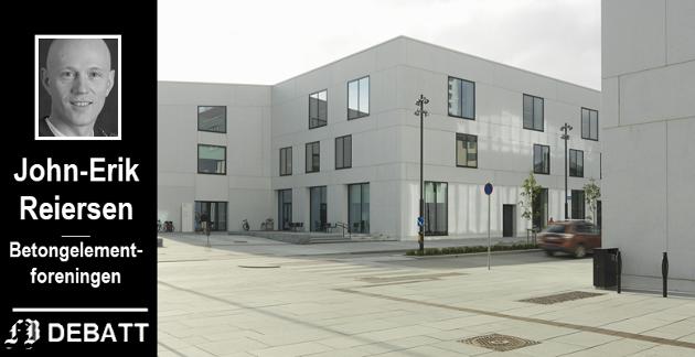 Fra Stormen i Bodø, materialvalg er en del av bygningens arkitektoniske signatur. Samtidig har konstruksjonen mange tekniske ytelser, slik som brann, robusthet, varighet og mye mer. Alt dette er mer kunnskapsbasert valg enn det er næringspolitikk, kanskje det kan være en nyttig erkjennelse?