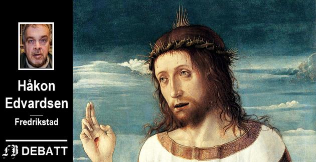 Den oppståtte Jesus i Giovanni Bellinis maleri «Velsignende Kristus» fra omkring 1465 er et av bildene Navid Kermani kommenterer i sin bok. Dette er et utsnitt av originalen som henger i Louvre i Paris.