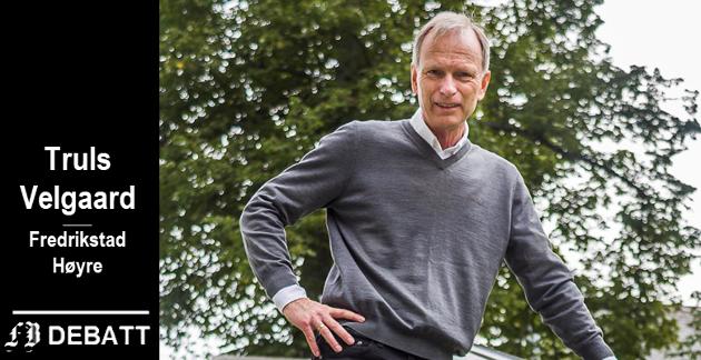 Truls Velgaard: –  Vi ikke kan heie på et industrielt samarbeid mellom bedrifter i Nedre Glomma den ene dagen, og den neste dagen si at vi støtter det bare på betingelse av at alle investeringer og alle arbeidsplasser kommer i Fredrikstad.