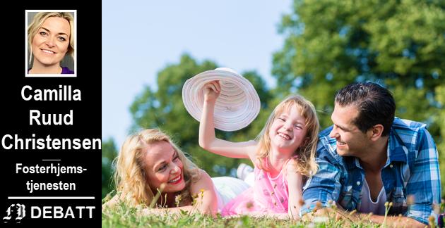 – Det viktigste vi som samfunn kan gi barn, er et trygt og godt hjem. Kjærlighet og omsorg. Glede, opplevelser og gode hverdager.