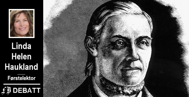 – Da Hauge endelig kunne sette seil mot Nordland i 1803, var han en av Nord-Europas største kjendiser, forteller kronikkforfatter Haukland.