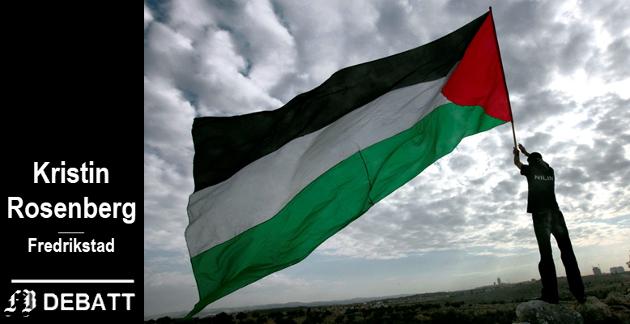 Kristin Rosenberg: – Israels bosettinger på Vestbredden er ikke noe «indre anliggende».