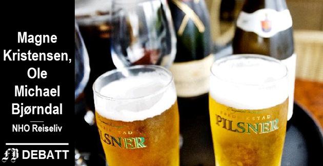 – Når man får kommunalt skjenketilsyn, skal dette sjekke om man forholder seg korrekt til alkohollovens bestemmelser, fastslår brevforfatterne fra NHO Reiseliv. – Arbeidstilsynet undersøker om bedriften forholder seg korrekt til Arbeidsmiljøloven.