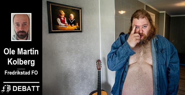 Familien fortalte i en FB-reportasje om den fortvilte situasjonen til Jostein Bergstrøm som har en sammensatt diagnose. Fredrikstad FO mener han ville fått det bedre dersom Fredrikstad kommune selv hadde tatt hånd om omsorgstilbudet.