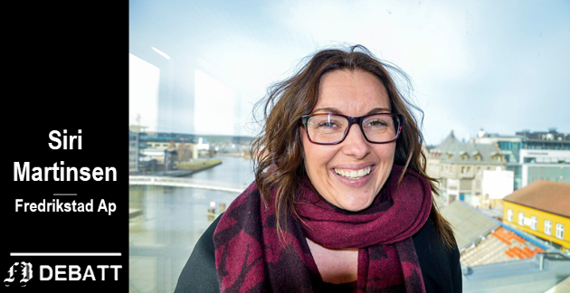 Siri Martinsen, leder Fredrikstad Arbeiderparti og 2.-kandidat til kommunevalget