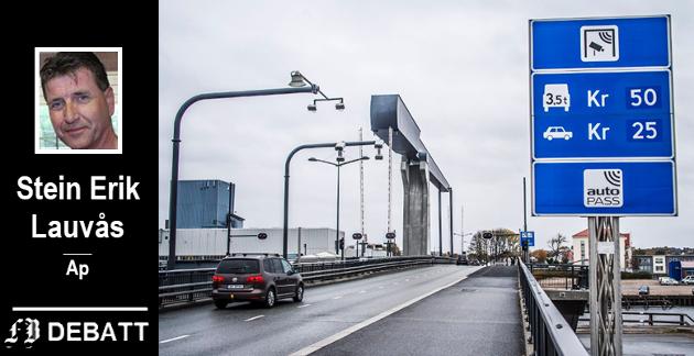 – At finansminister Siv Jensen og Frp nå sier at byene må betale mer for sine bypakker, bidrar ikke til å løfte kvaliteten i tjenestene som innbyggerne i disse byene skal få, mener Lauvås.