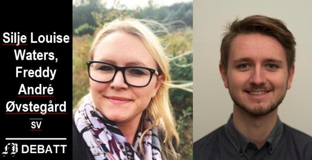 Silje Louise Waters og  Freddy André Øvstegård.