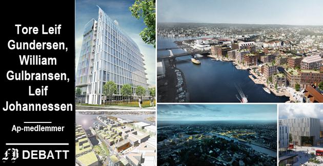 – I dag er det dessverre blitt slik at vi lar markedskreftene styre boligpolitikken, skriver trioen som samlet har lang tid bak seg både som partimedlemmer og fagforeningsledere i Fredrikstad.