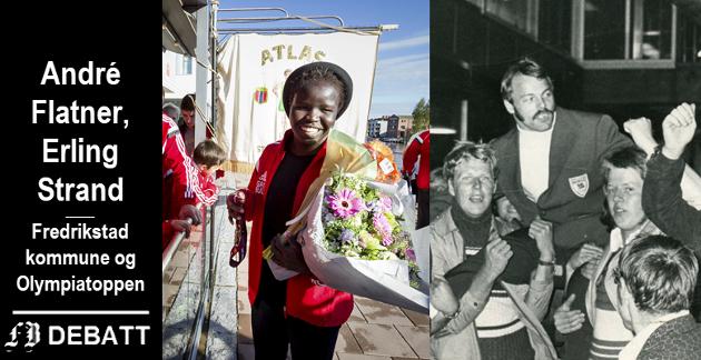 Topputøvere fra Fredrikstad, men den yngste har et stykke igjen for å nå den eldres meritter. Grace Bullen ble hyllet av klubbmedlemmer i Atlas da hun kom hjem som europamester i 2017. Leif Jensen ble historisk da han tok OL-gull i vektløfting i München i 1972.